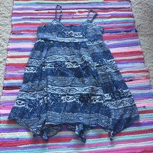 AEO BLUE SUMMER DRESS